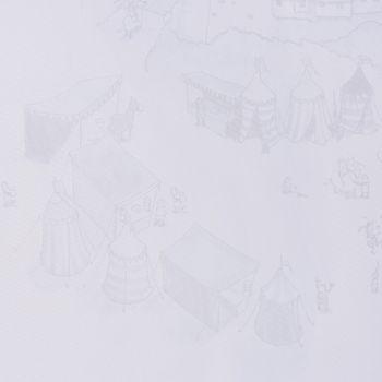 Villa Coppenrath Ritter Vincelot Gardinenstoff Voile Vincelots Welt weiß 280cm – Bild 5