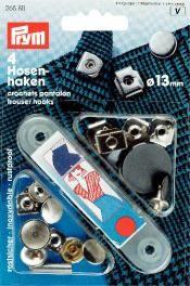 Prym NF-Haken und Stege ST silberfarbig/brüniert 13 mm