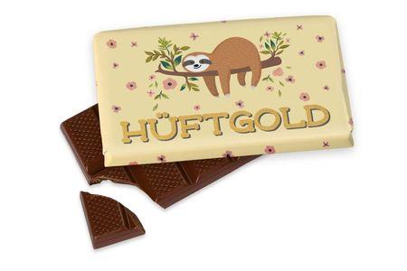 La Vida kleine Schokolade Geschenk HÜFTGOLD