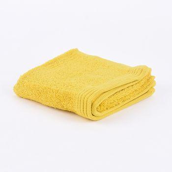 Frottee Handtuch Duschtuch Gästetuch senfgelb – Bild 2