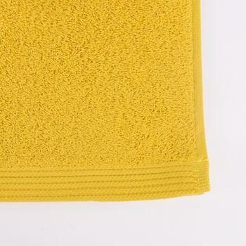 Frottee Handtuch Duschtuch Gästetuch senfgelb – Bild 7