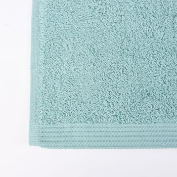 Frottee Handtuch Duschtuch Gästetuch mint – Bild 8