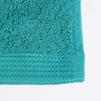 Frottee Handtuch Duschtuch Gästetuch smaragdgrün – Bild 9