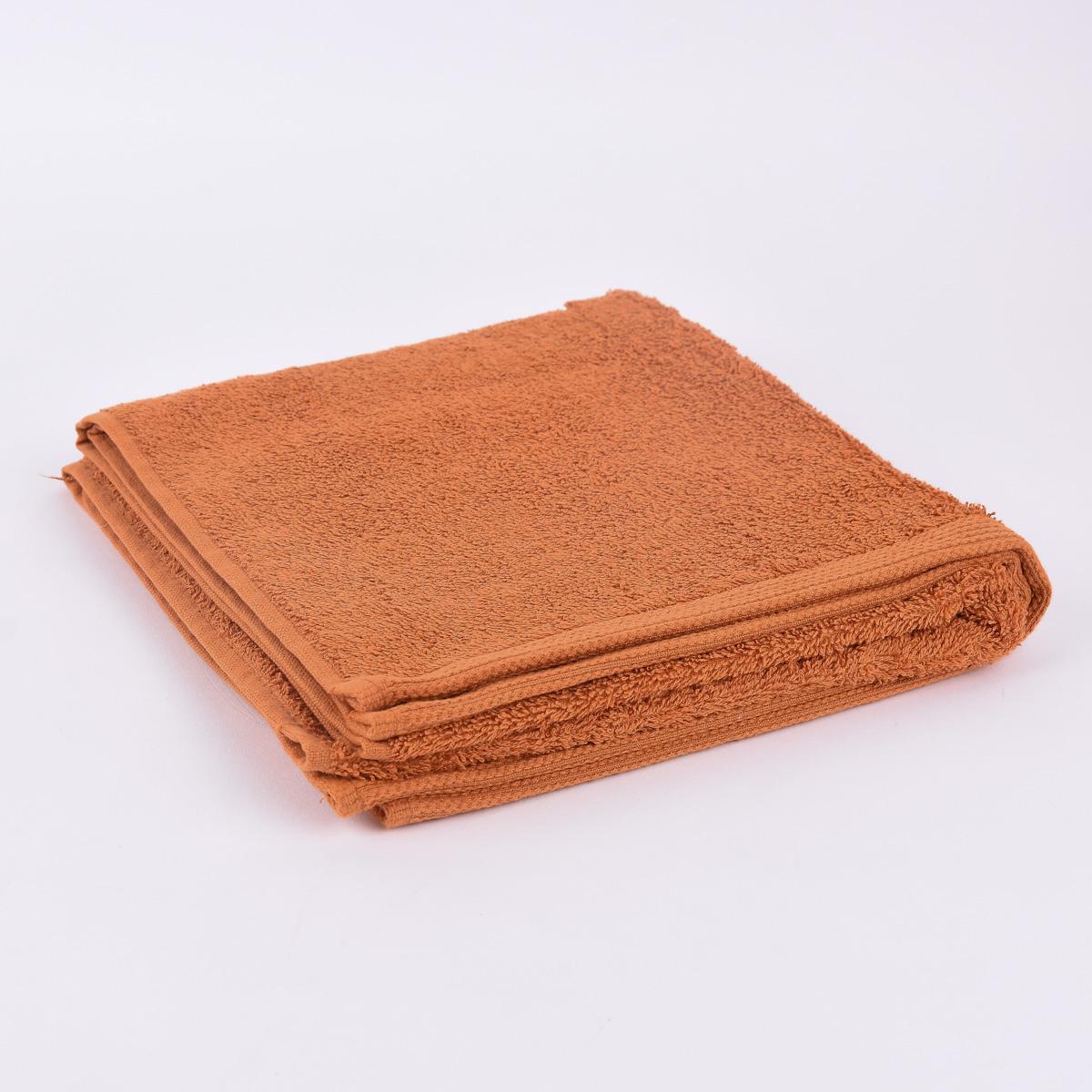 Frottee Handtuch Duschtuch Gästetuch Terrakotta Geschenkeria