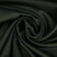 Royal Micro Satin Stoff Meterware dunkelgrün 1,45m Breite 001