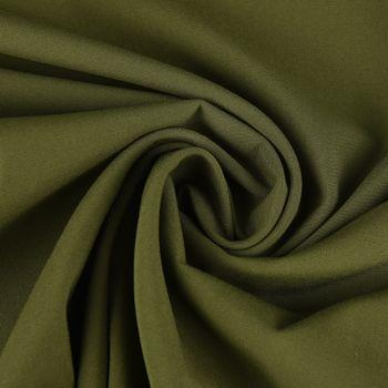 Bekleidungsstoff Viskose-Jersey Rosella uni grün 1,40m Breite – Bild 1