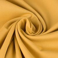 Bekleidungsstoff Viskose-Jersey Rosella uni curry gelb 1,40m Breite 001