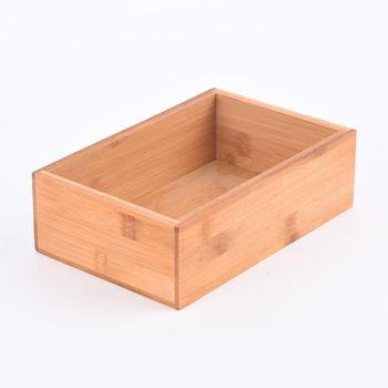 Aufbewahrungsbox Kiste Bambus 23x15x7cm – Bild 1