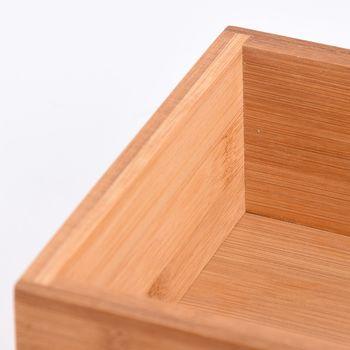 Aufbewahrungsbox Kiste Bambus 23x15x7cm – Bild 4