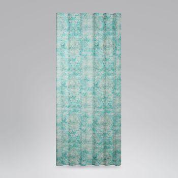 SCHÖNER LEBEN. BW-Vorhang Vorhangschal mit Smok-Schlaufenband Oriental Vintage 245cm oder Wunschlänge – Bild 1