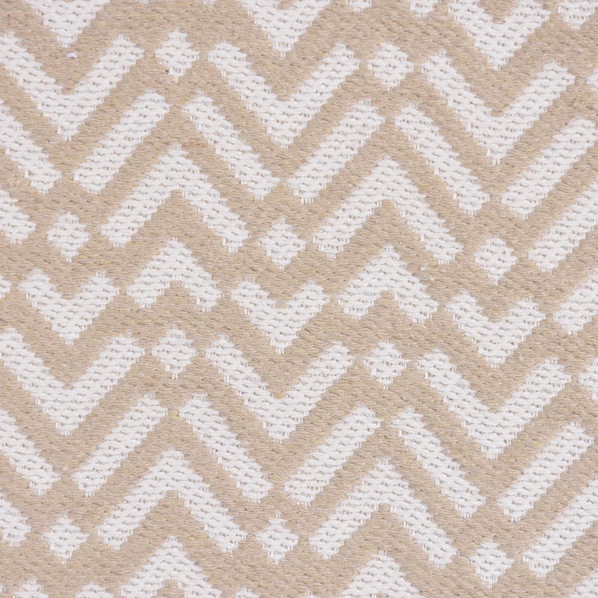 Dekostoff Jacquard-Stoff Strukturstoff abstrakt beige creme 270cm Breite