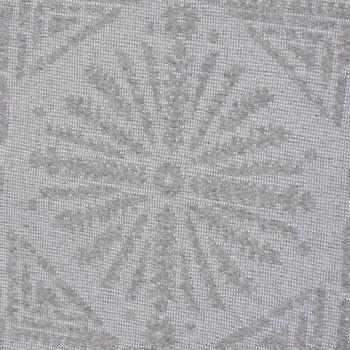 Dekostoff Jacquard-Stoff Relief-Strukturstoff abstrakt einfarbig grau 275cm Breite – Bild 4