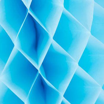 Wabenball Papier himmelblau 40x40cm – Bild 2
