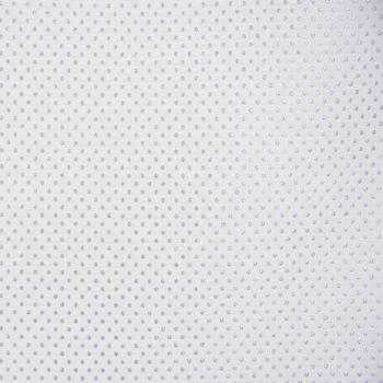 DekostoffTischwäschestoff Jacquard-Stoff Double Face Punkte Ecru Lurex Silberglanz 280cm Breite – Bild 4