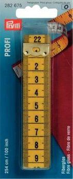 Prym Maßband Profi Glasfiber 255cm 100inch