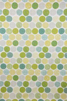 Dekostoff Baumwollstoff Casa Cactus creme Kreise grün taupe Tönen verschiedene Motive 1,4m Breite – Bild 6
