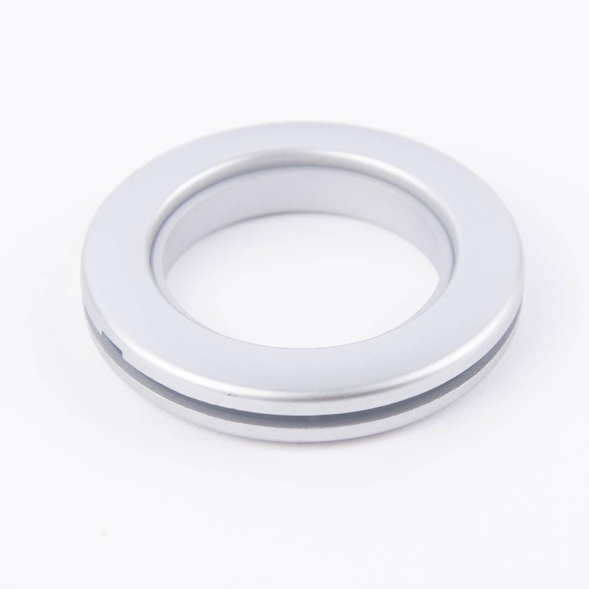 Gardinenösen Ösen für alle Stoffe chrom matt 10 Stück Stoffloch 40mm