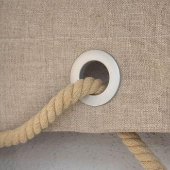 Gardinenösen Ösen für alle Stoffe edelstahl 10 Stück Stoffloch 40mm – Bild 5