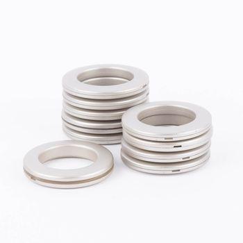 Gardinenösen Ösen für alle Stoffe edelstahl 10 Stück Stoffloch 40mm – Bild 1