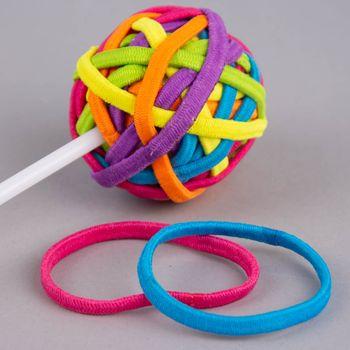 Haargummi Lollipop Einhorn 24 Stück bunt – Bild 1