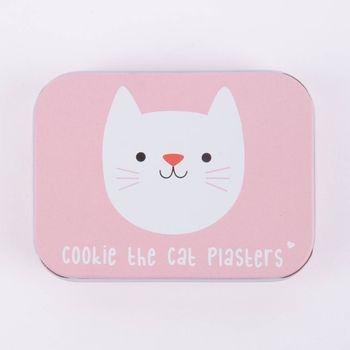 Pflasterdose Cookie the Cat Pflasterset 30 Stück 9,5x7x2cm – Bild 3