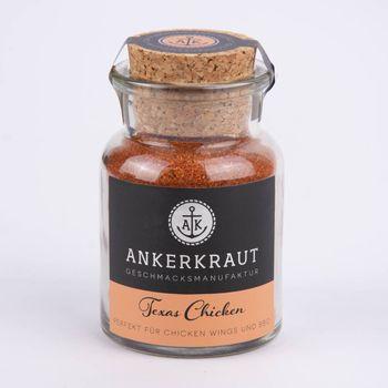 Ankerkraut Trockenmarinade Texas Chicken BBQ-Rub 95g – Bild 1