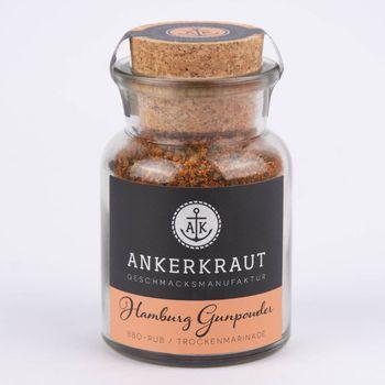 Ankerkraut Trockenmarinade Hamburg Gunpowder BBQ-Rub 90g