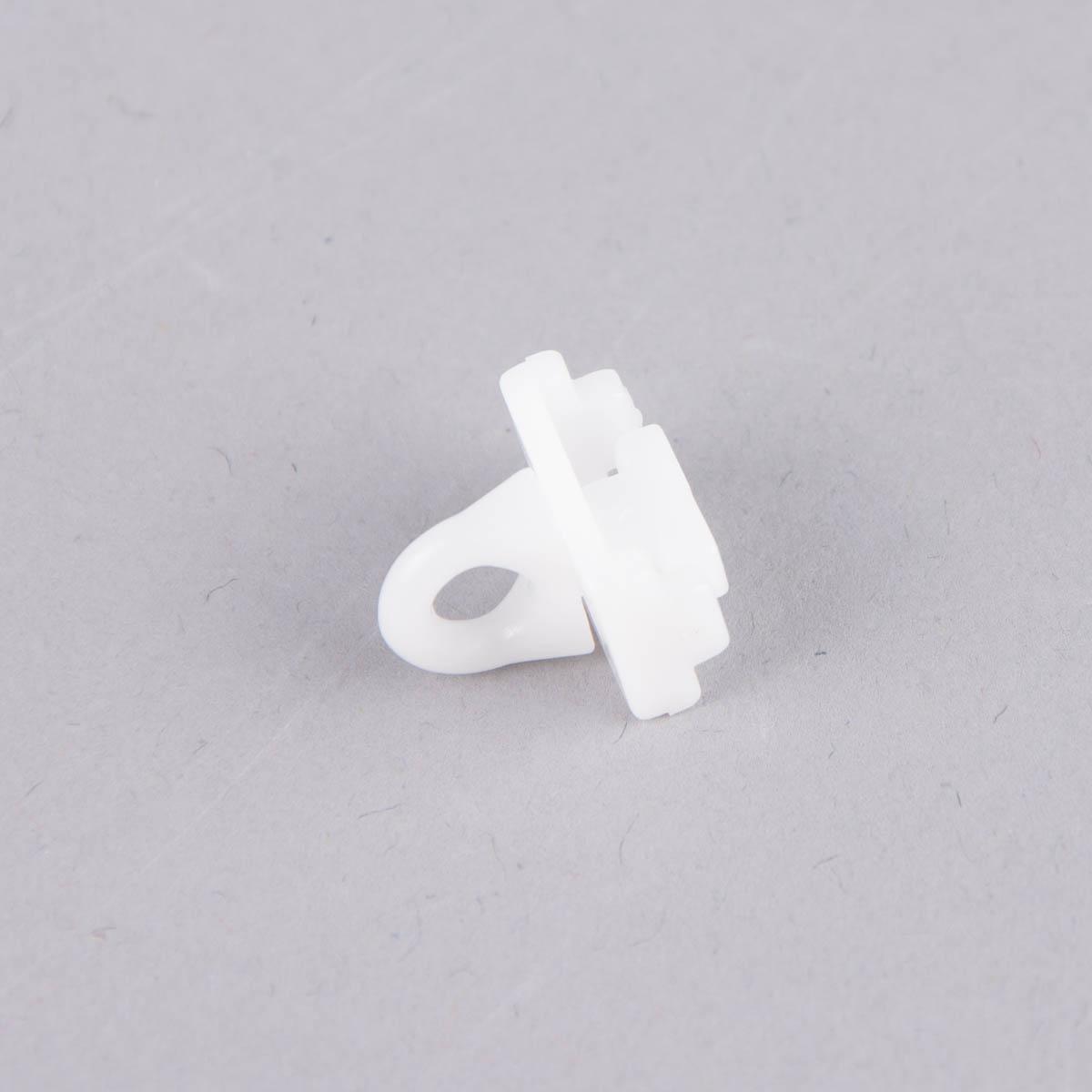 Feststeller für 16mm/20mm 4 Stück weiß Kunststoff