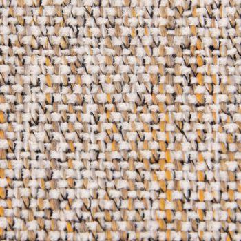 Bezugsstoff Möbelstoff Polsterstoff VALENCIA gelb natur – Bild 2