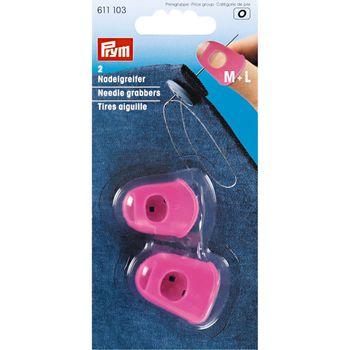 Prym Nadelgreifer Silikon M+L pink