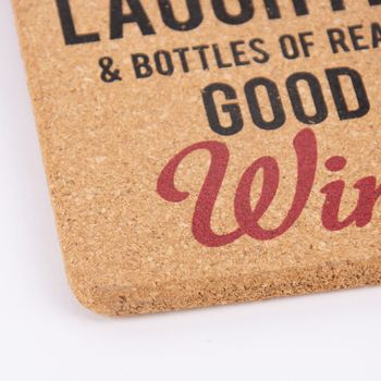 Korkschild Weinliebhaber 3 verschiedene Varianten naturfaben 11,5x16,5cm – Bild 9