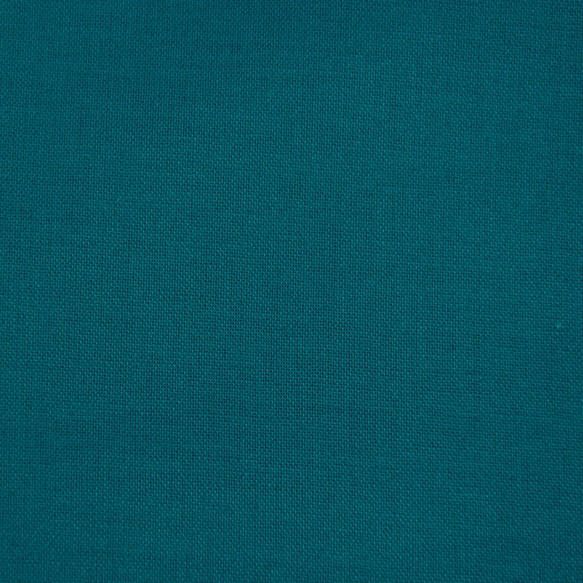 Kreativstoff Baumwollstoff Fahnentuch einfarbig petrol 1,45m Breite