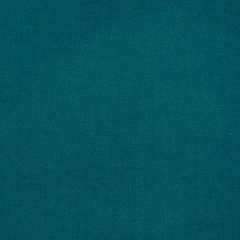 Kreativstoff Baumwollstoff Fahnentuch einfarbig petrol 1,45m Breite – Bild 1