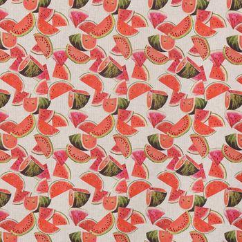SCHÖNER LEBEN. Tischläufer Melonenstücke natur bunt 40x160cm – Bild 3