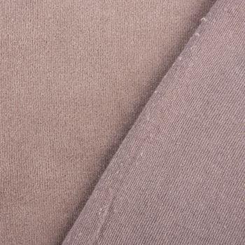 Bekleidungsstoff Nicky einfarbig schlamm 1,4m Breite – Bild 2