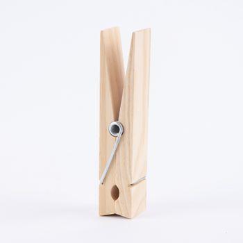 Holzklammer groß Holz 15x3,5cm – Bild 1