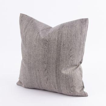 Kissenhülle Wood Filzstoff grau 40x40cm – Bild 1