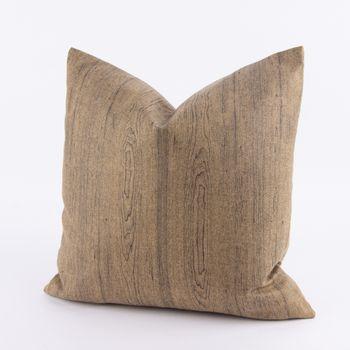 Kissenhülle Wood Filzstoff ocker 50x50cm – Bild 1