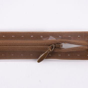 Prym Reißverschluss unsichtbar Kunststoff nougat Länge: 22cm – Bild 1