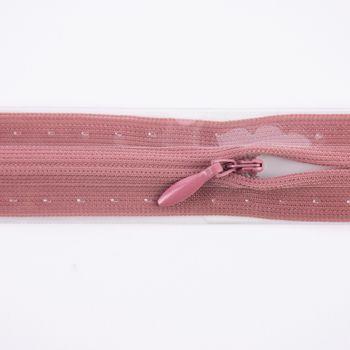 Prym Reißverschluss unsichtbar Kunststoff altrosa Länge: 22cm – Bild 1