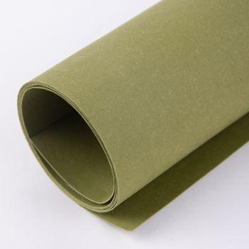 Lederpapier Bogen Stärke 0,55mm grün 50x100cm – Bild 1