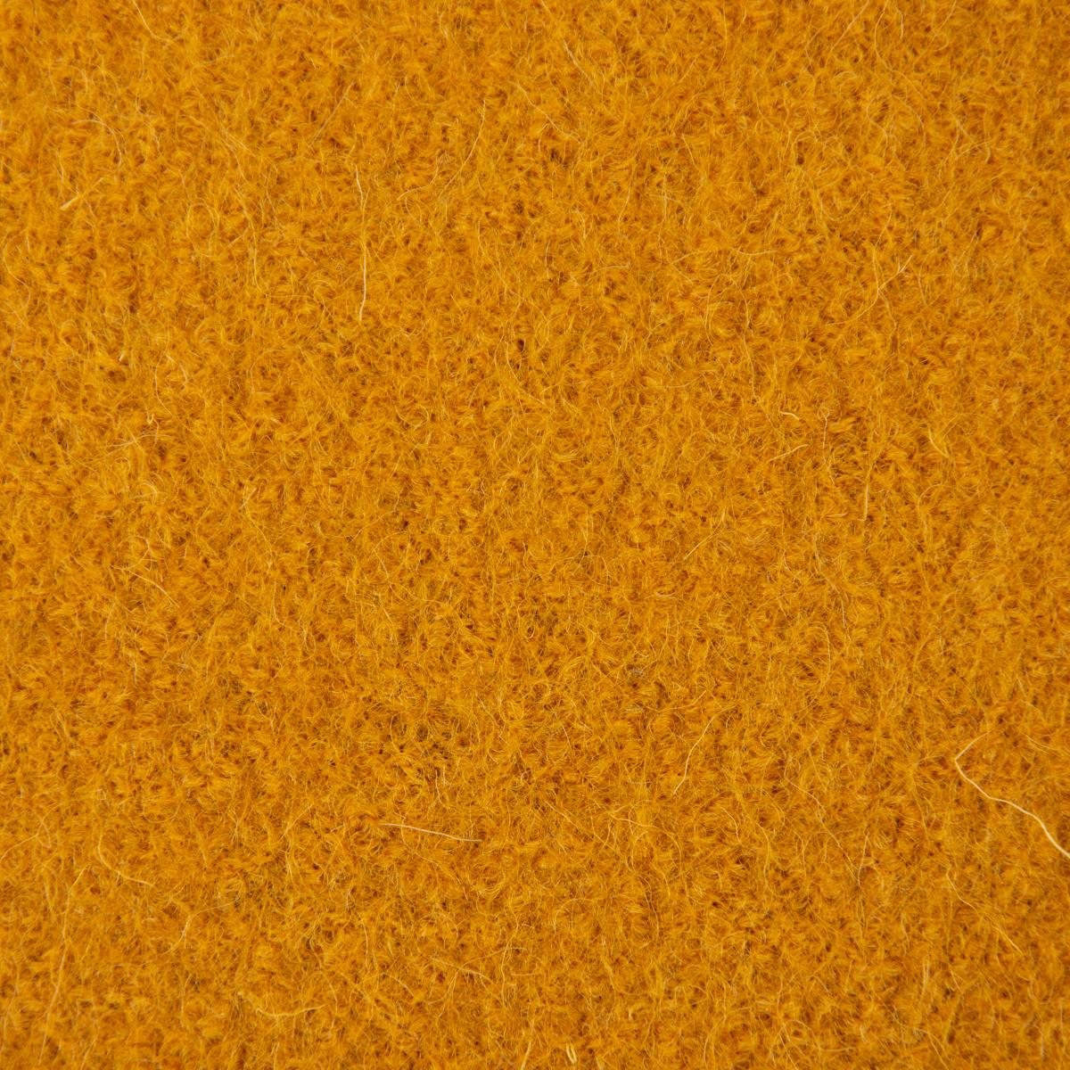 Mantelstoff Bekleidungsstoff Walkloden Wolle Wollstoff ocker gelb 1,40m Breite