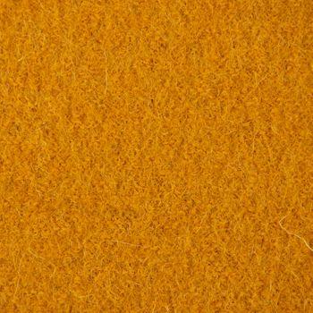 Bekleidungsstoff Walkloden Wolle Wollstoff ocker gelb 1,40m Breite – Bild 1