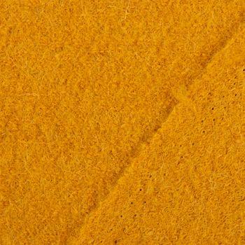 Bekleidungsstoff Walkloden Wolle Wollstoff ocker gelb 1,40m Breite – Bild 3
