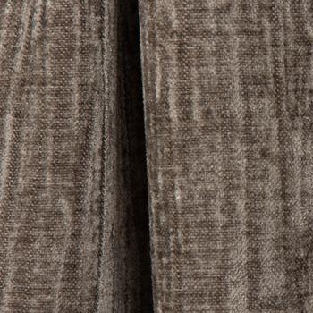 Thermo Chenille Fertigvorhang  Kälteschutz Schallschutz Verdunkelung grau 145x245cm – Bild 4