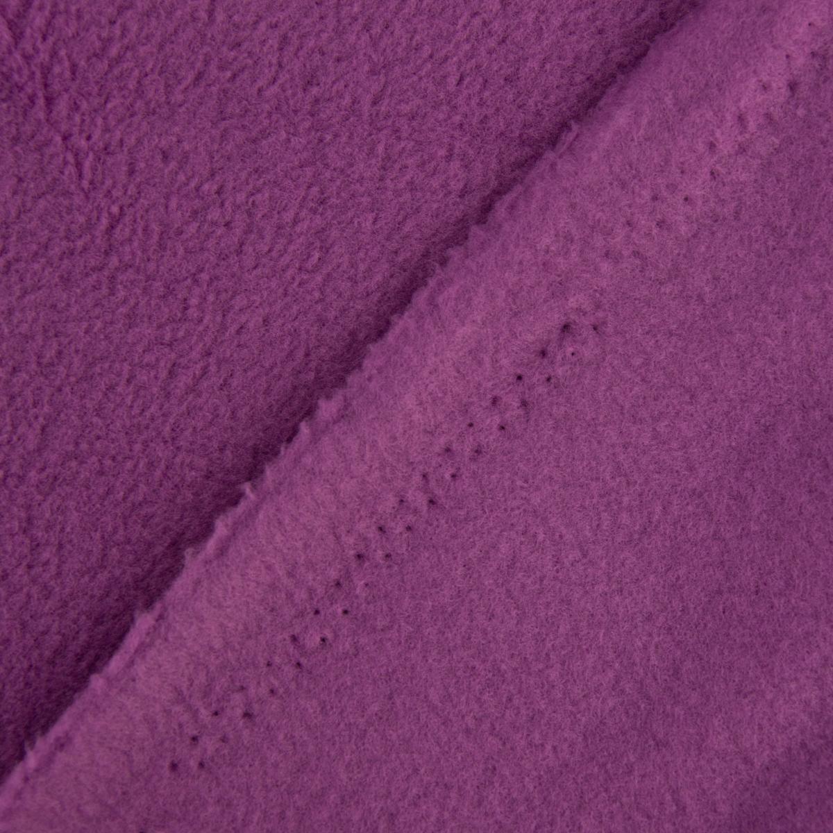 polar fleece stoffe fleecestoff lila beere 1 50m breite alle stoffe stoffe uni fleece. Black Bedroom Furniture Sets. Home Design Ideas