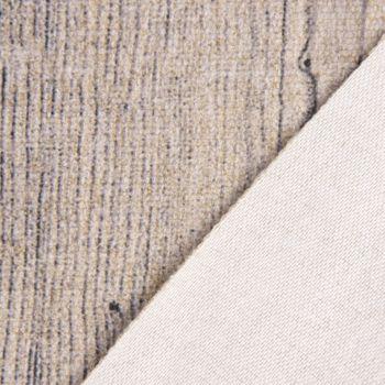 Möbelstoff Polsterstoff Bezugsstoff WOOD Filz Holzstruktur natur 1,40m Breite – Bild 5