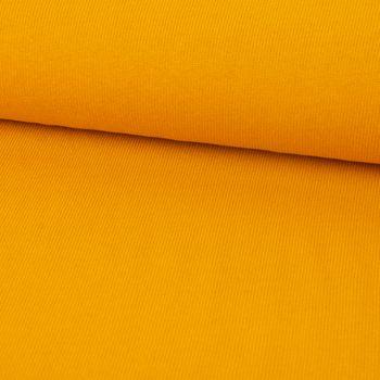 Strickstoff Baumwollstrick Bekleidungsstoff ocker 1,60m Breite – Bild 1