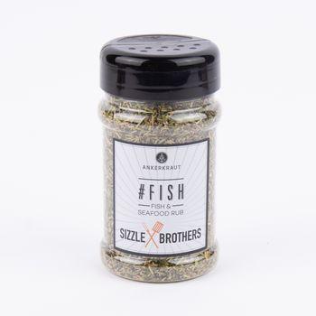 Ankerkraut Gewürzzubereitung für Fisch -#Fish- 130g – Bild 1