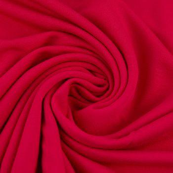 Bekleidungsstoff elastisch Modal einfarbig pink fuchsia 1,55m Breite – Bild 3